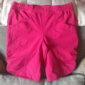 Columbia girls size medium pink outdoorsy shorts